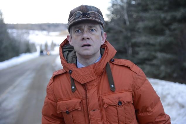 Fargo Lester sulla neve