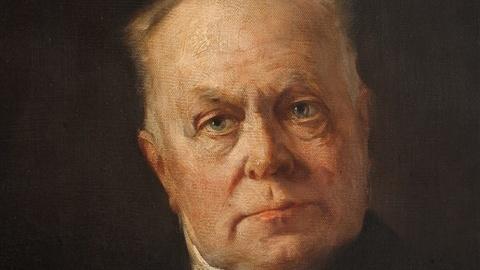 Kuno Fischer ritratto da Caspar Ritter