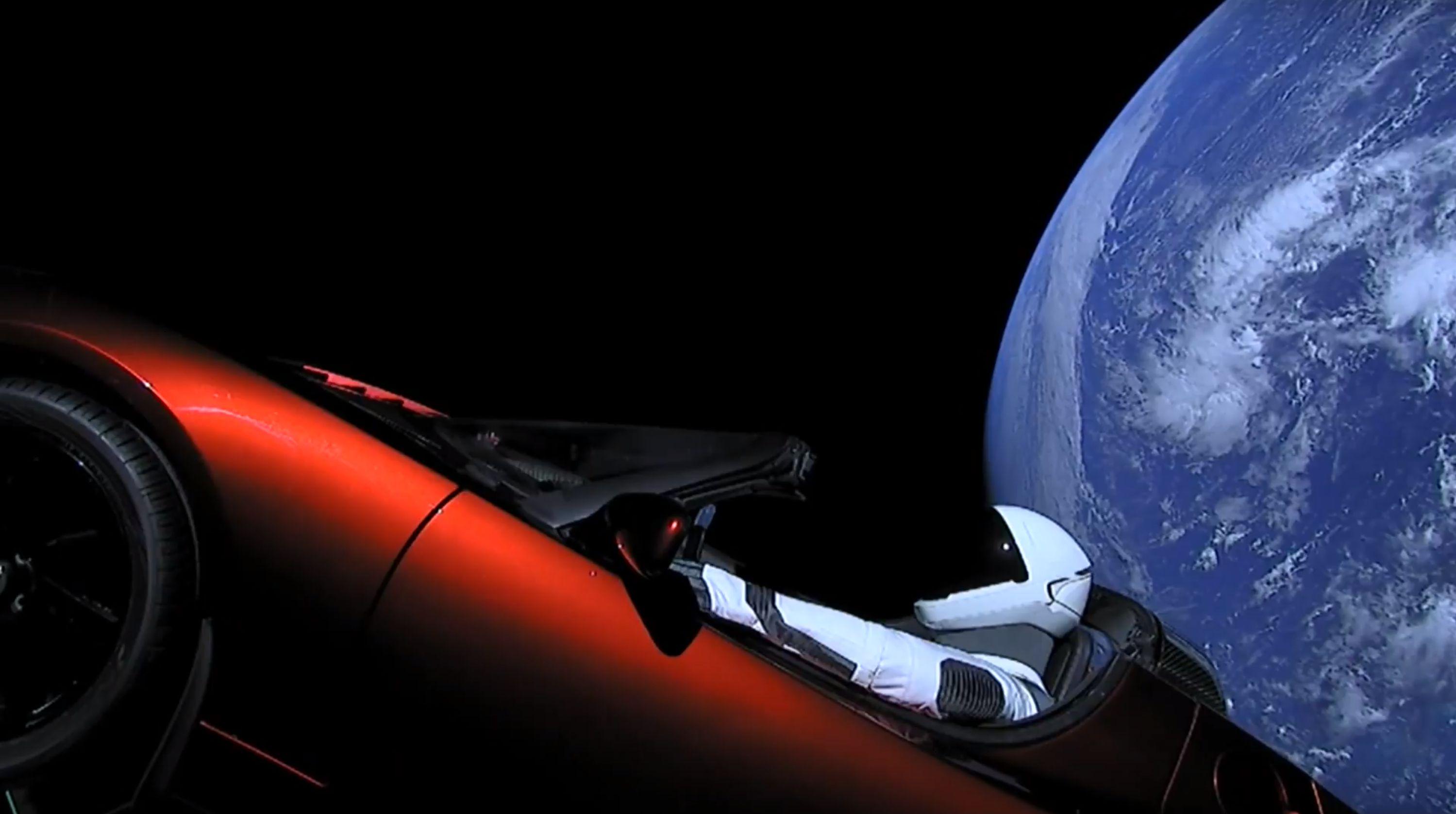 Bruno pilota nello spazio
